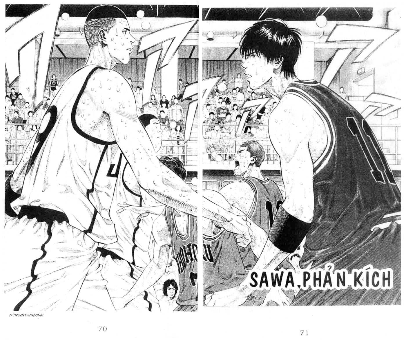 Slam Dunk chap 253 trang 4