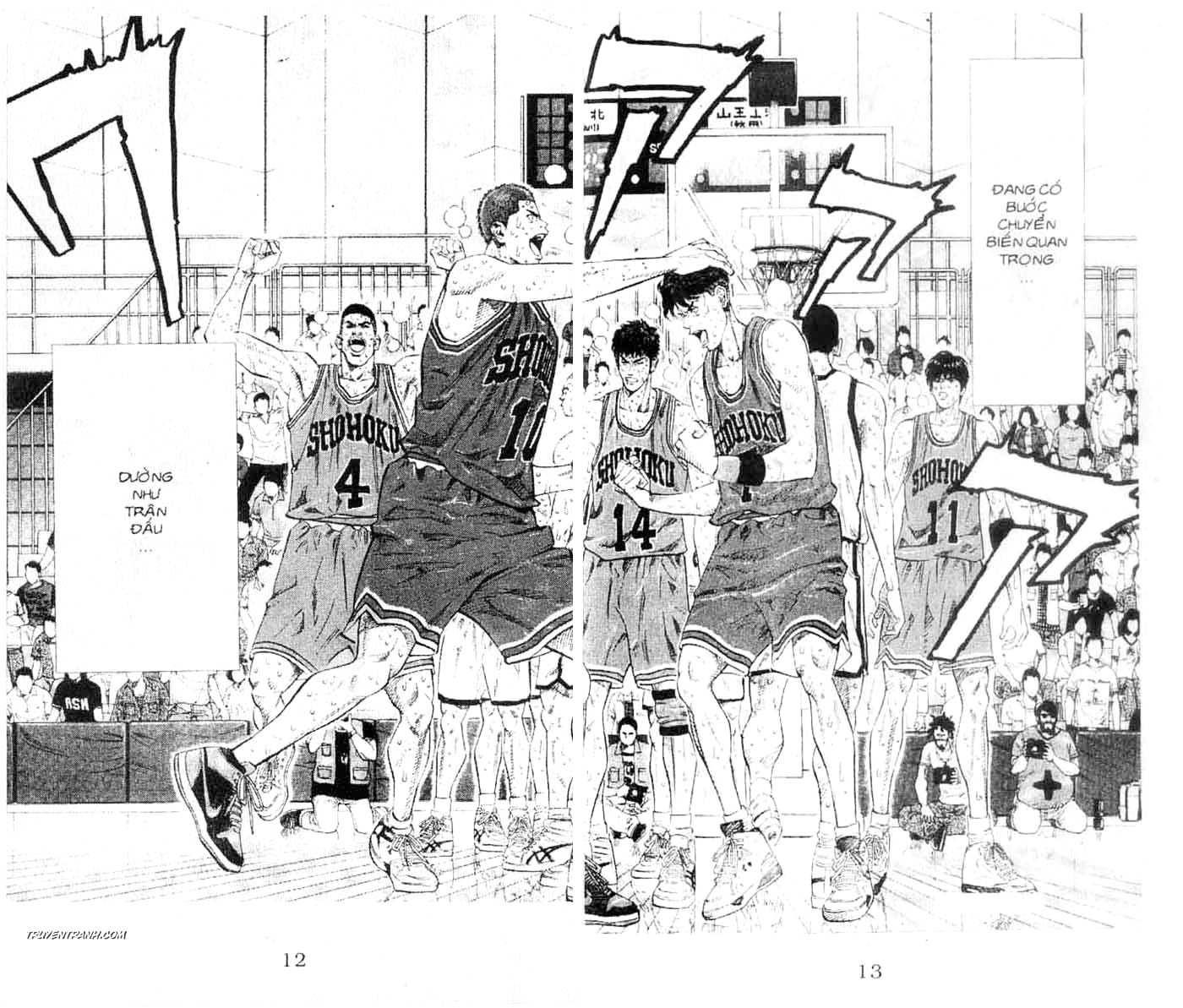 Slam Dunk chap 250 trang 6
