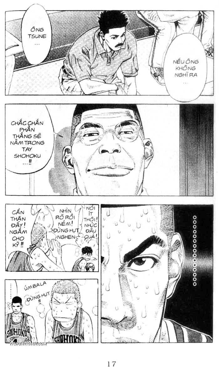 Slam Dunk chap 250 trang 10