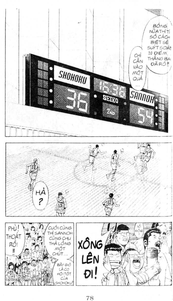 Slam Dunk chap 238 trang 4