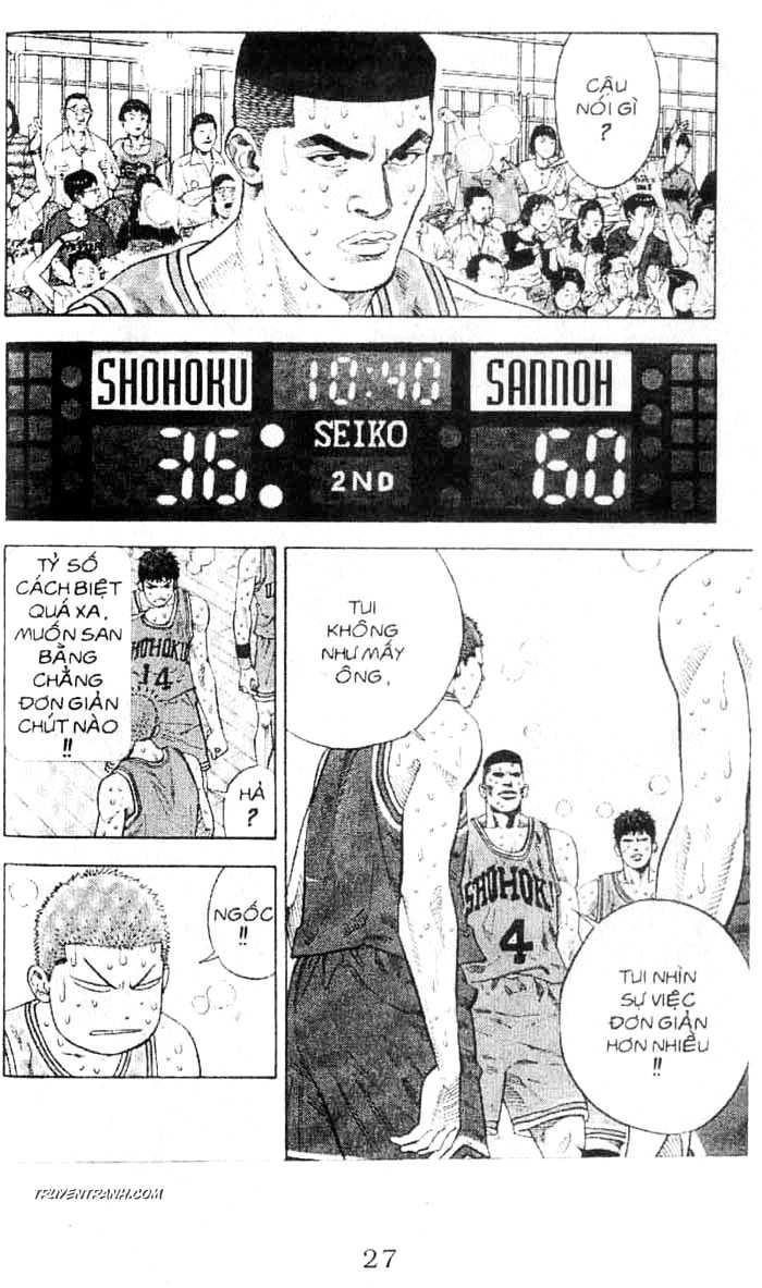 Slam Dunk chap 243 trang 7