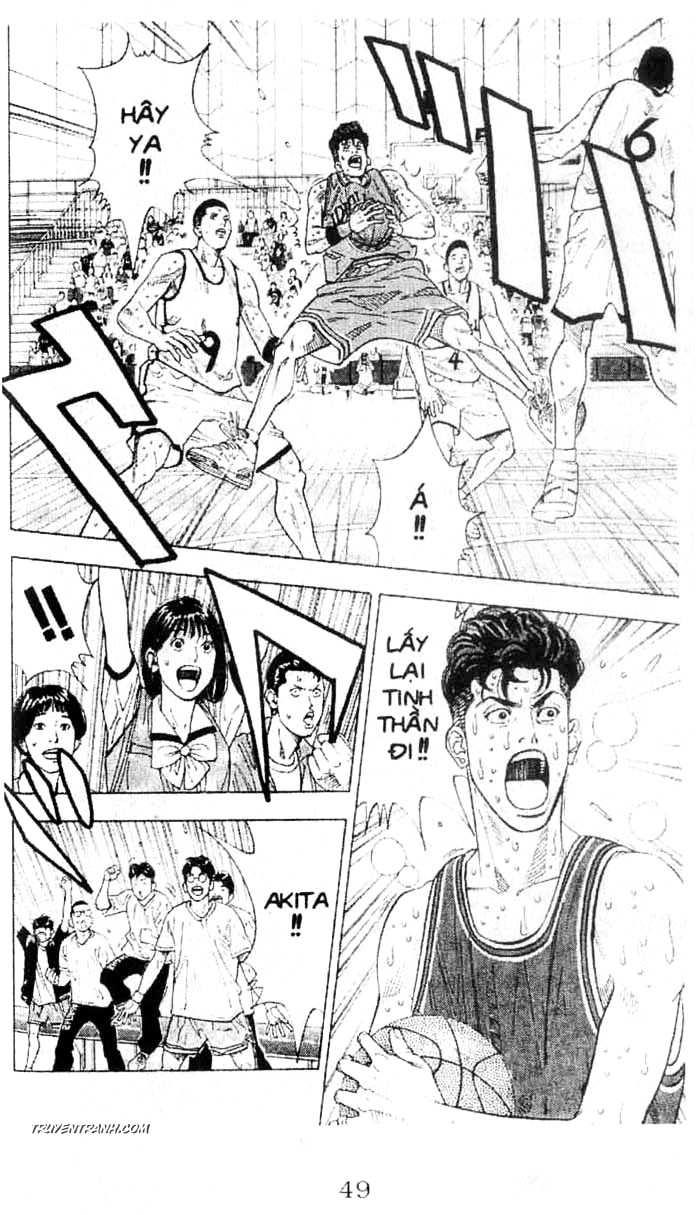 Slam Dunk chap 244 trang 9