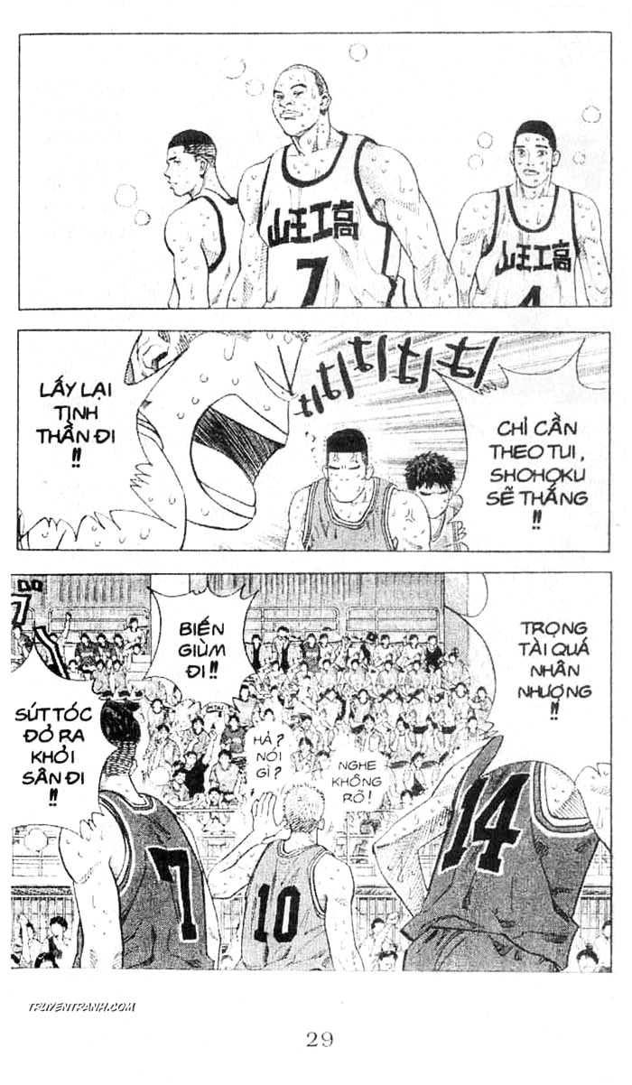 Slam Dunk chap 243 trang 9