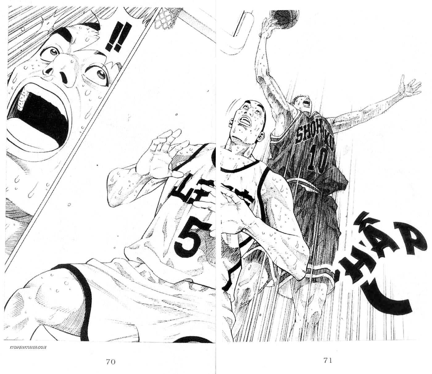 Slam Dunk chap 245 trang 10