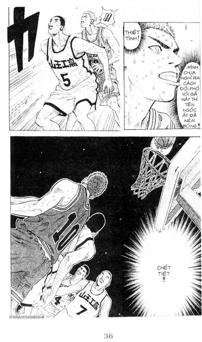 Slam Dunk chap 243 trang 16