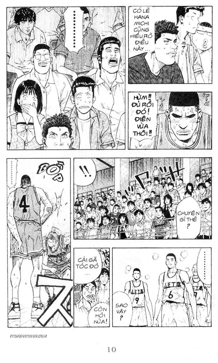 Slam Dunk chap 242 trang 11