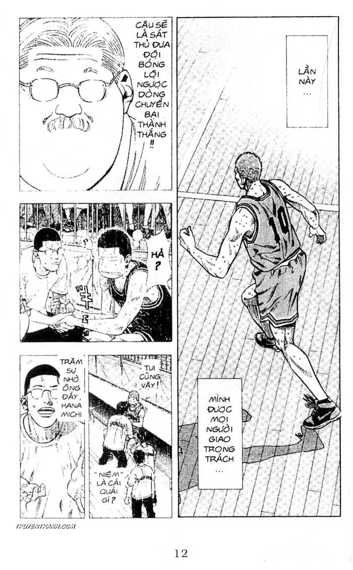 Slam Dunk chap 242 trang 13