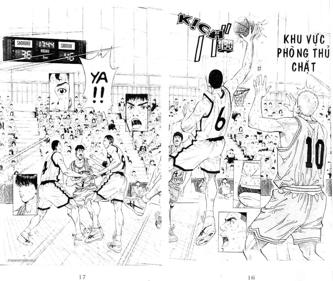 Slam Dunk chap 235 trang 2
