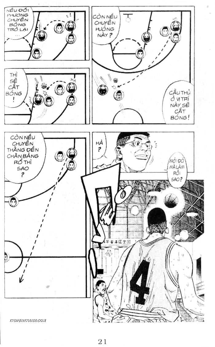 Slam Dunk chap 235 trang 6