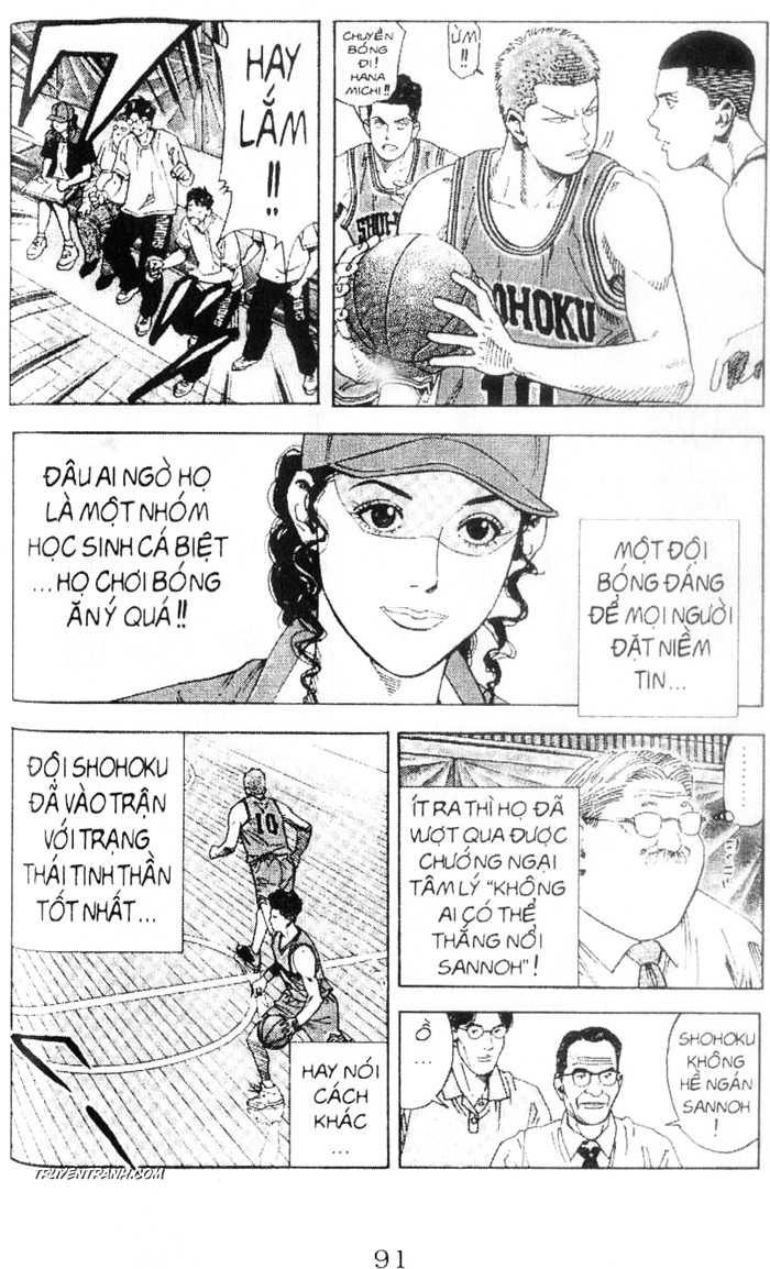 Slam Dunk chap 223 trang 9