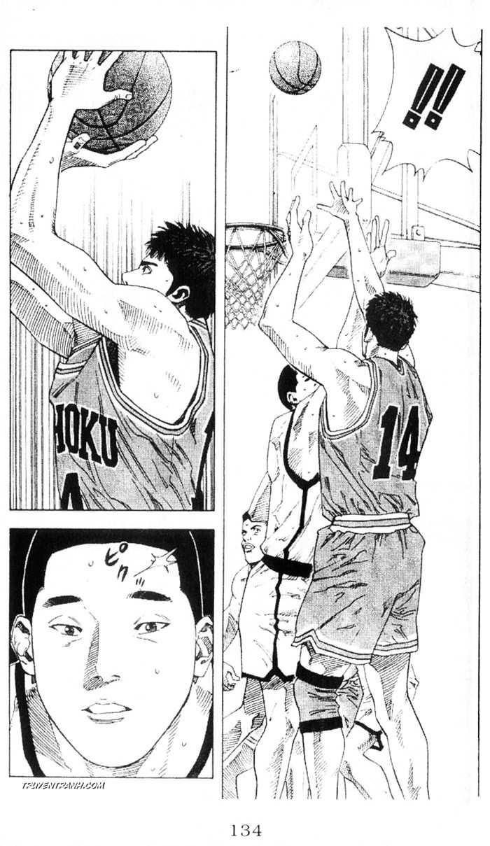 Slam Dunk chap 225 trang 10