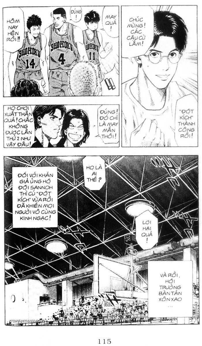 Slam Dunk chap 224 trang 11