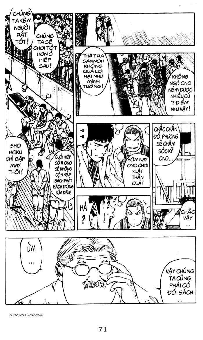 Slam Dunk chap 230 trang 3