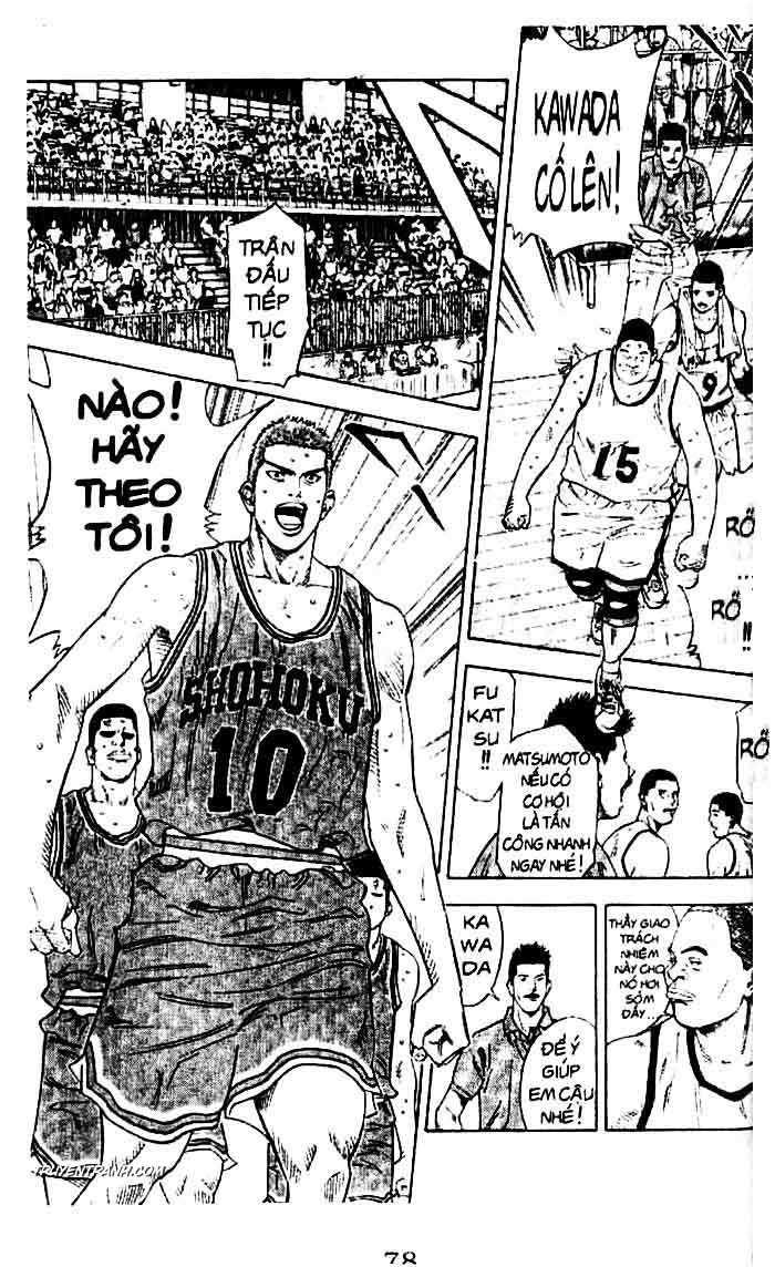 Slam Dunk chap 230 trang 10