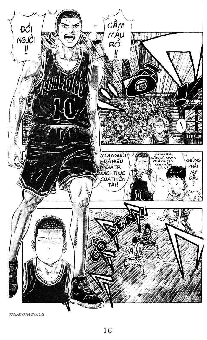 Slam Dunk chap 227 trang 7
