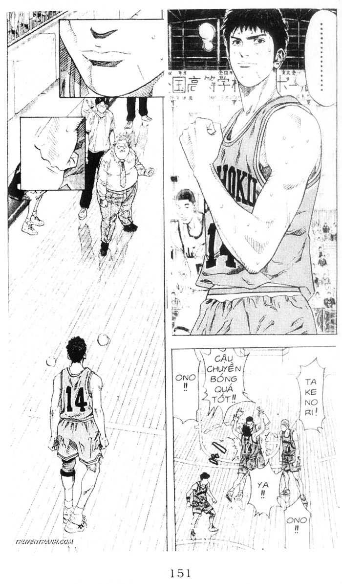 Slam Dunk chap 226 trang 8
