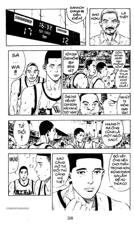 Slam Dunk chap 228 trang 10
