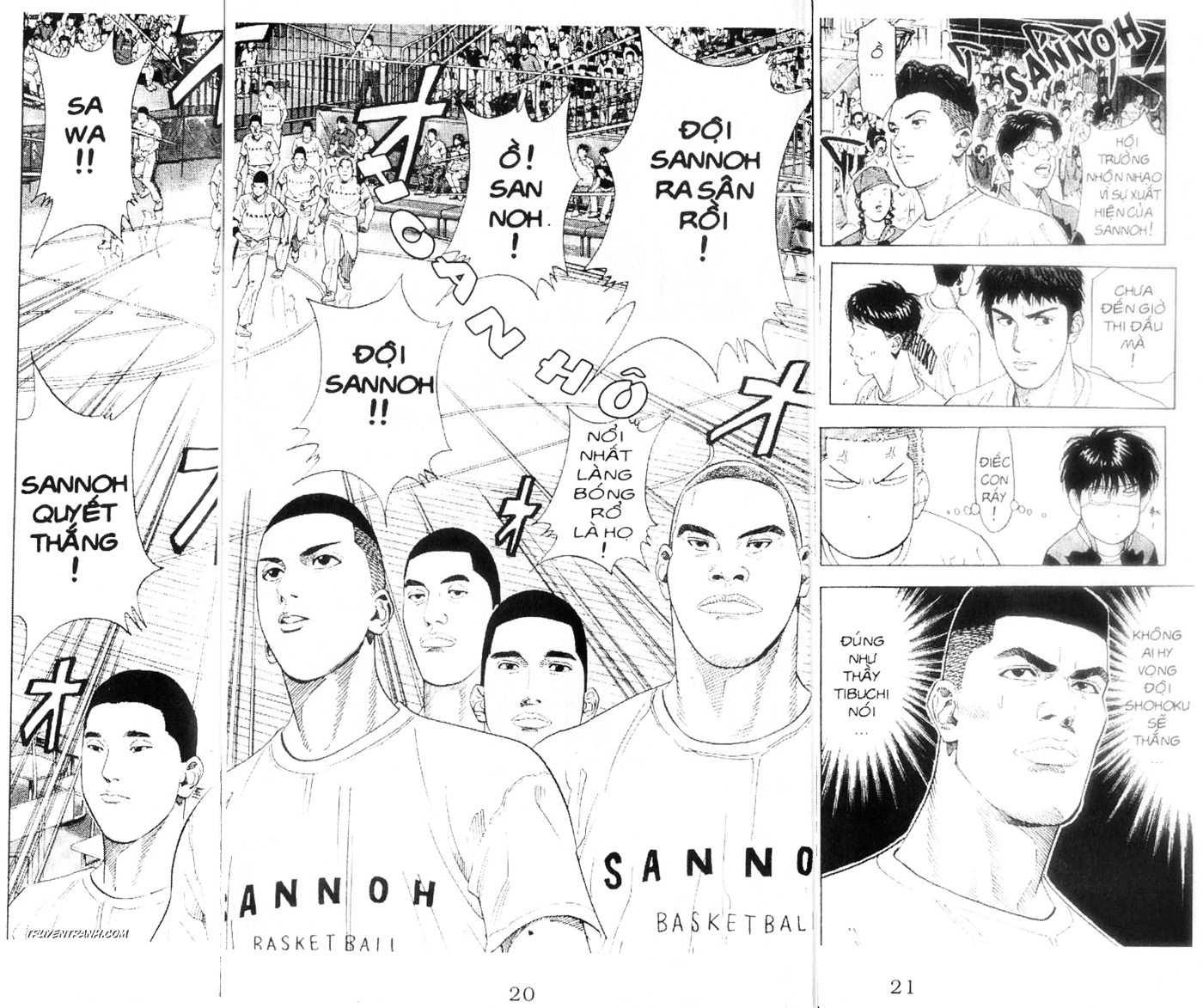 Slam Dunk chap 219 trang 17
