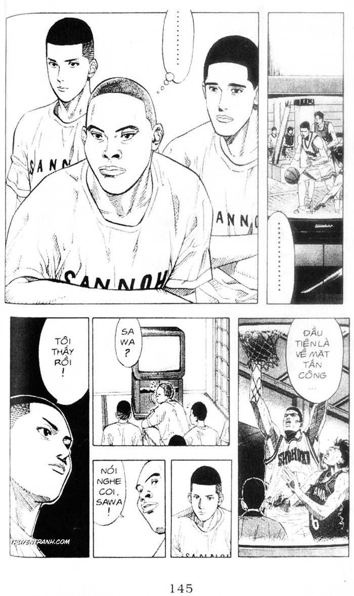 Slam Dunk chap 218 trang 10