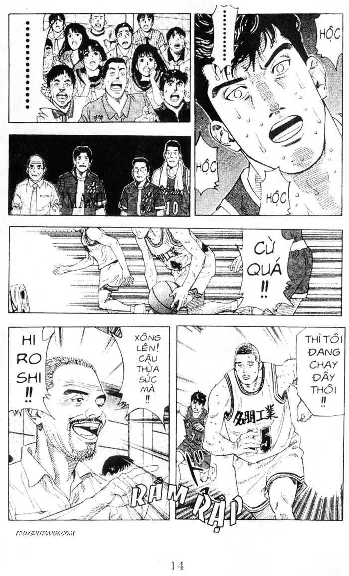 Slam Dunk chap 219 trang 12