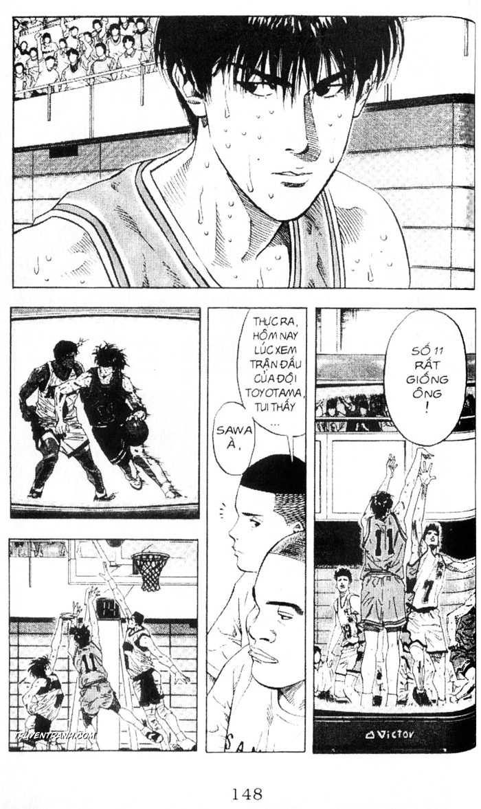 Slam Dunk chap 218 trang 13