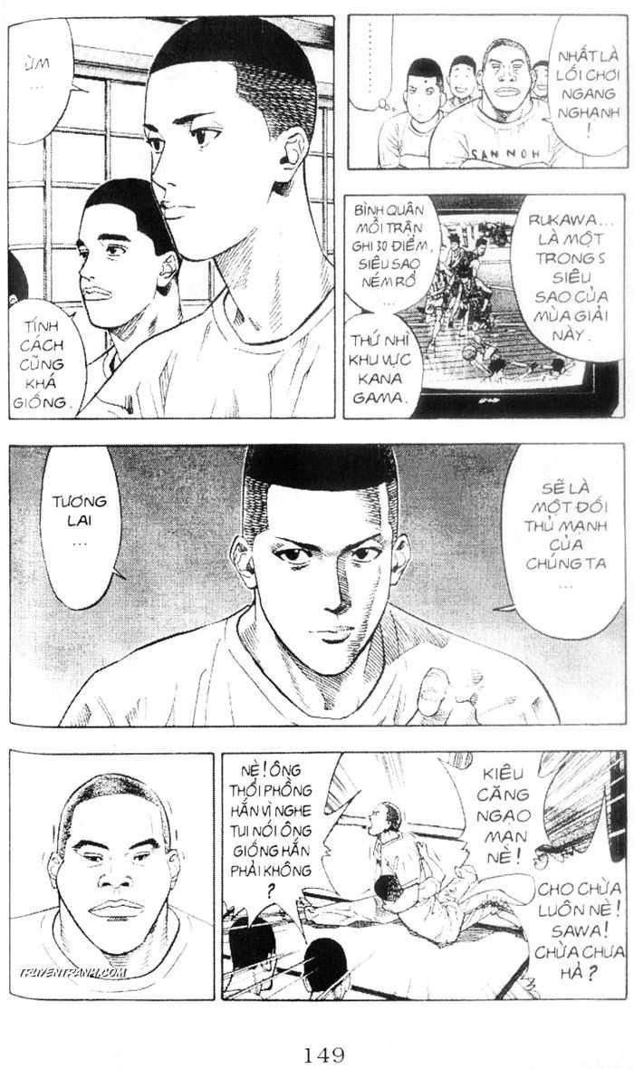 Slam Dunk chap 218 trang 14