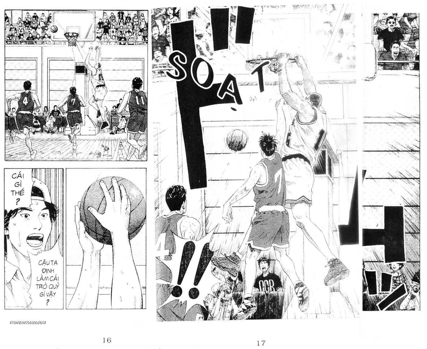 Slam Dunk chap 219 trang 14