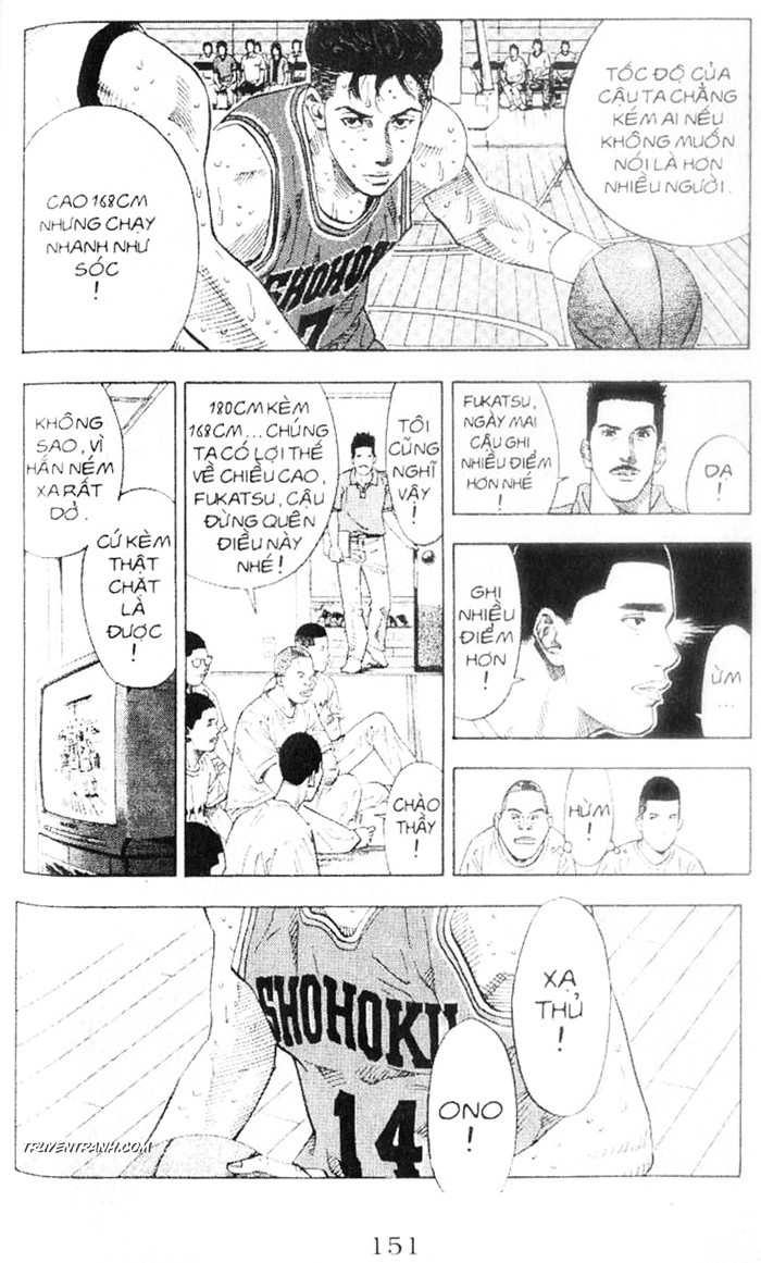 Slam Dunk chap 218 trang 16