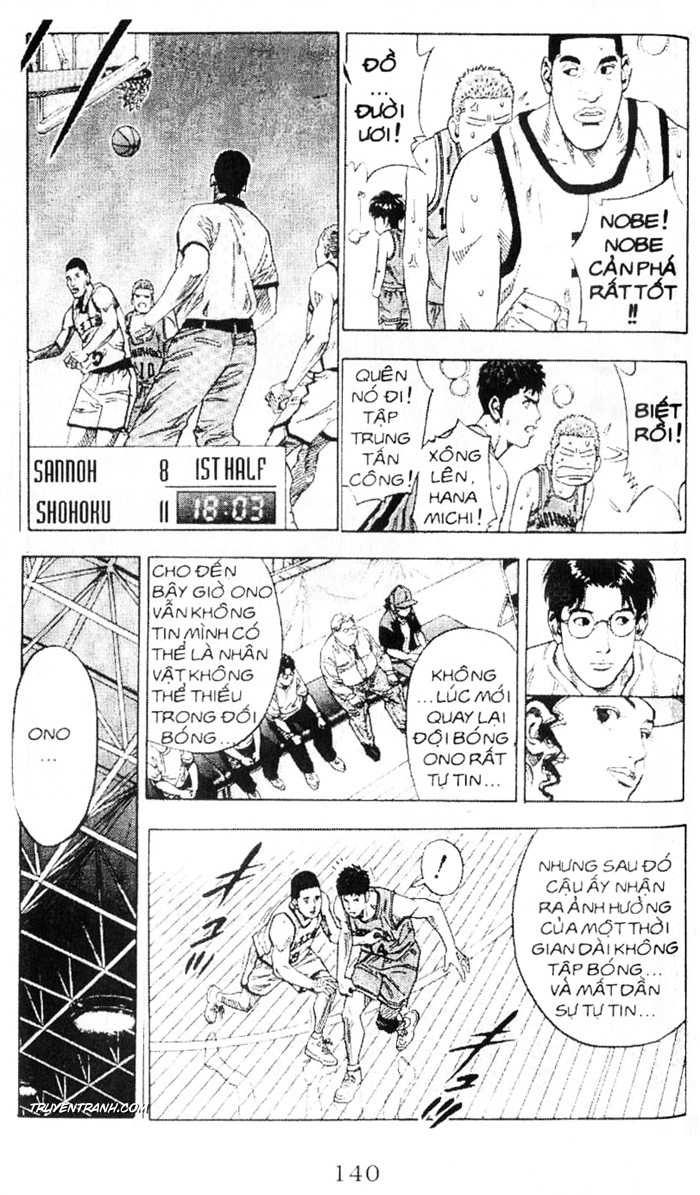 Slam Dunk chap 225 trang 16
