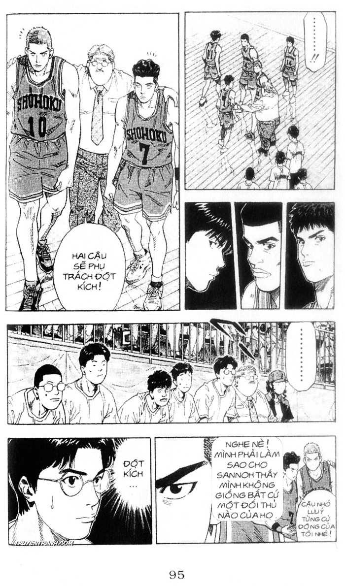 Slam Dunk chap 223 trang 13