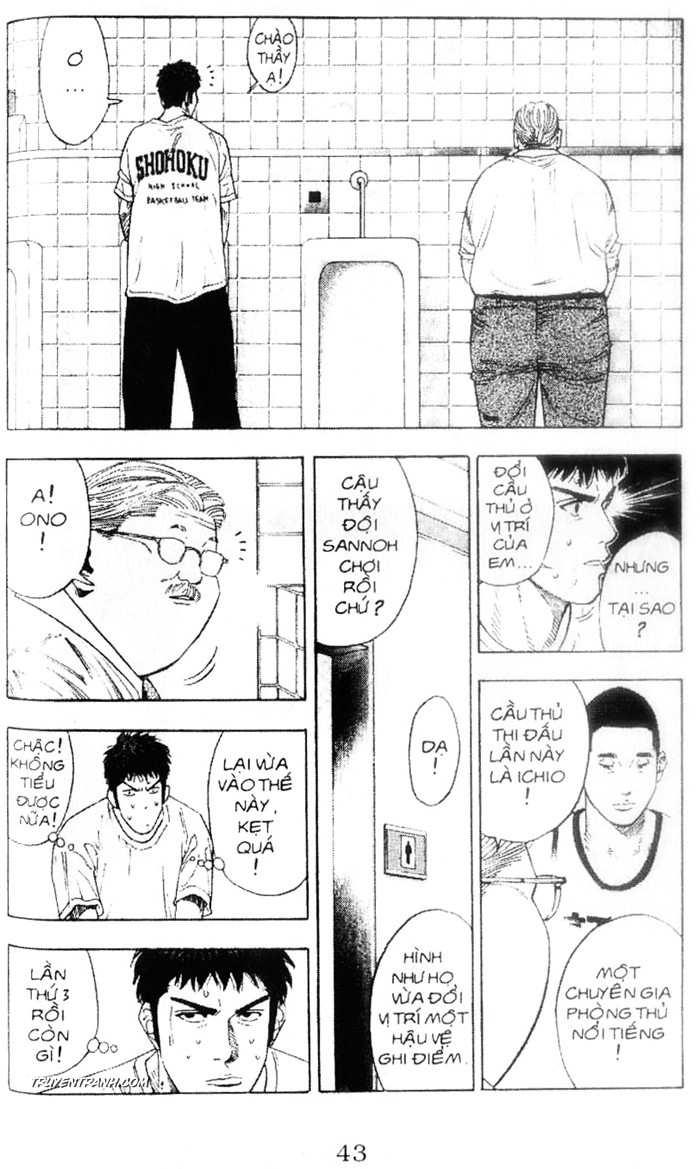 Slam Dunk chap 221 trang 2