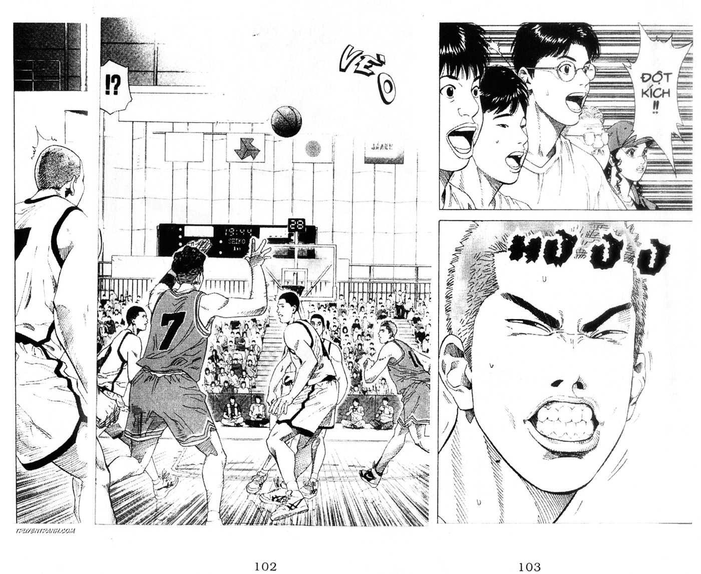Slam Dunk chap 223 trang 20