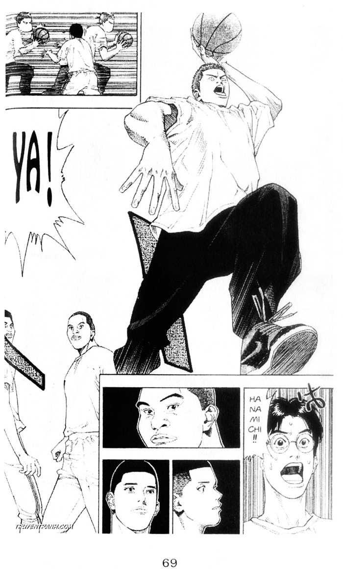 Slam Dunk chap 222 trang 8