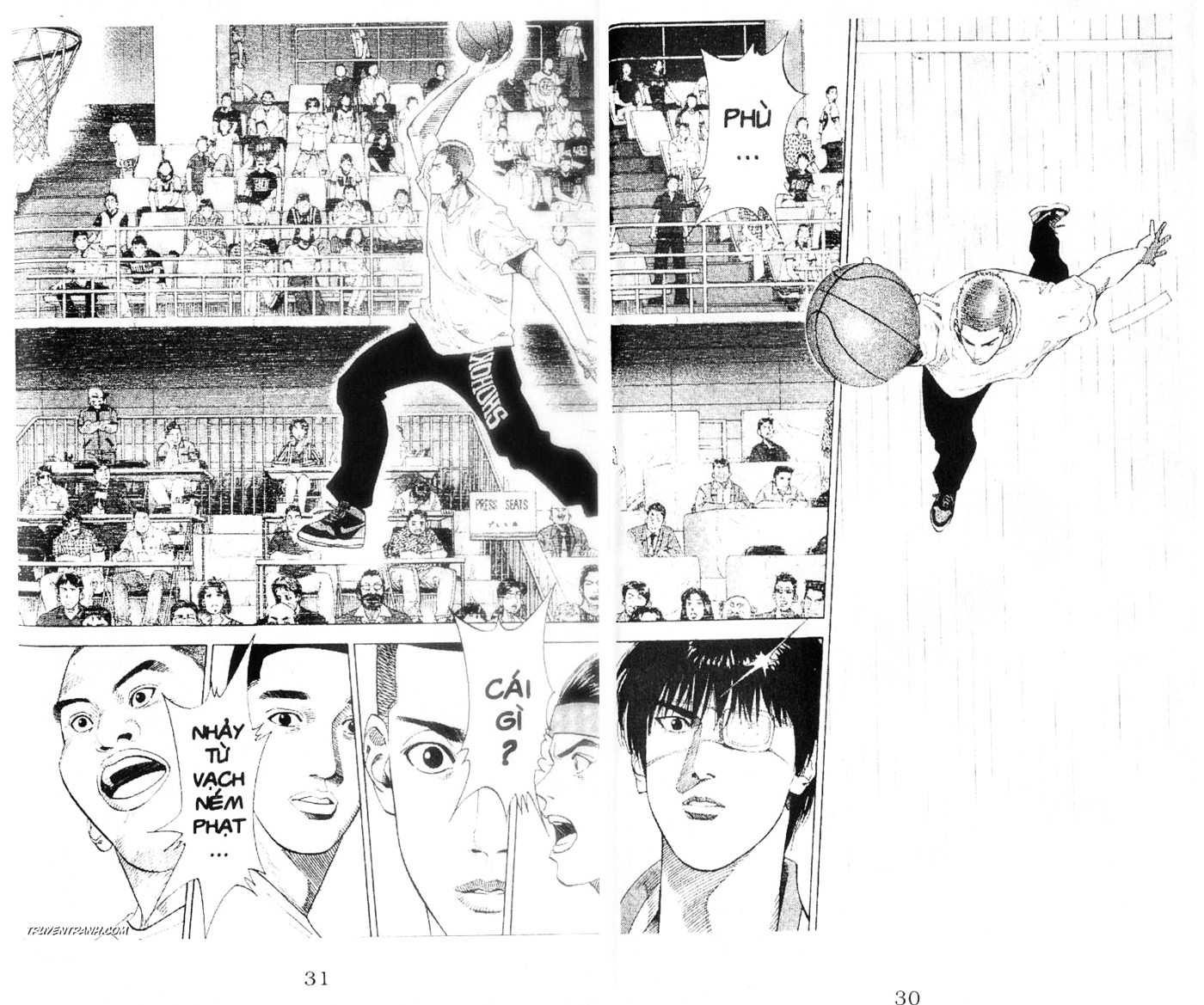 Slam Dunk chap 220 trang 8