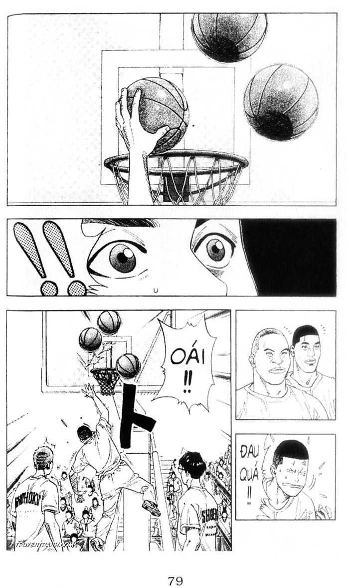 Slam Dunk chap 222 trang 17