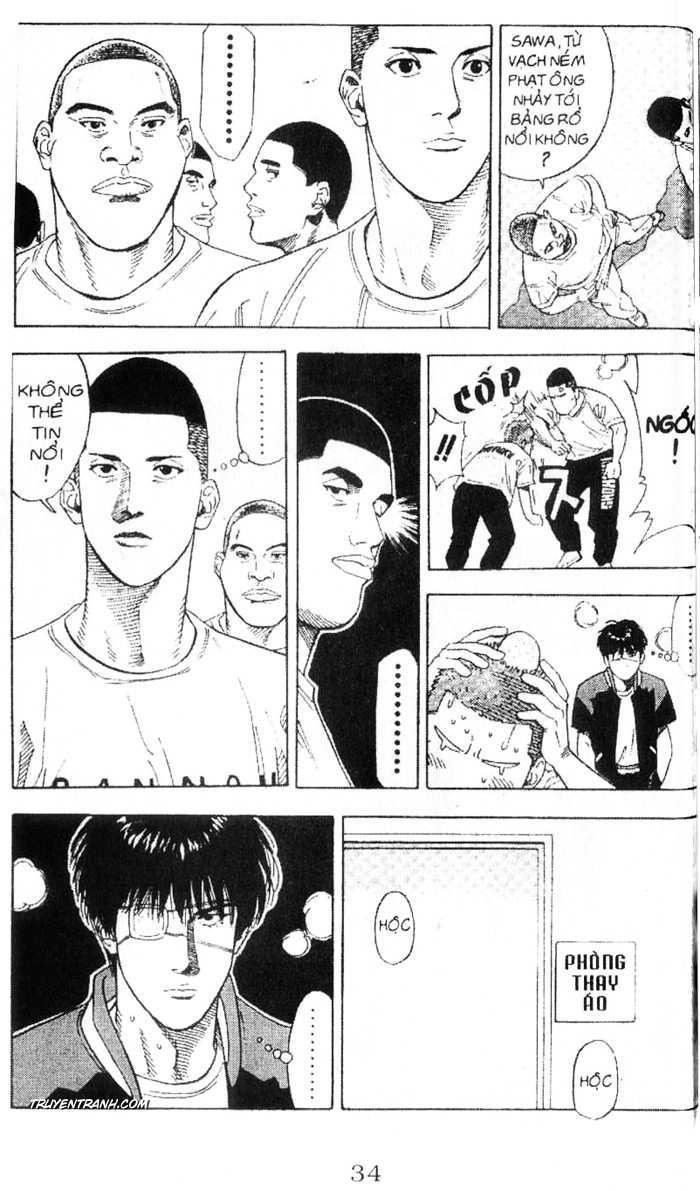 Slam Dunk chap 220 trang 11