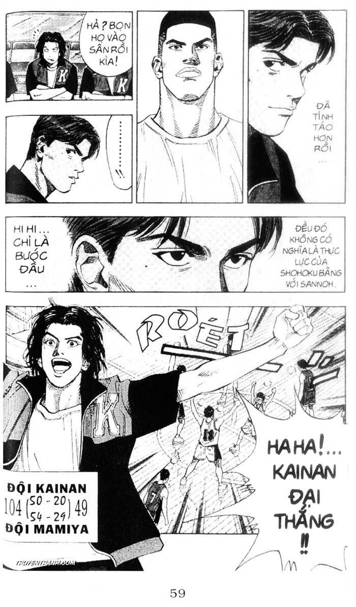 Slam Dunk chap 221 trang 18