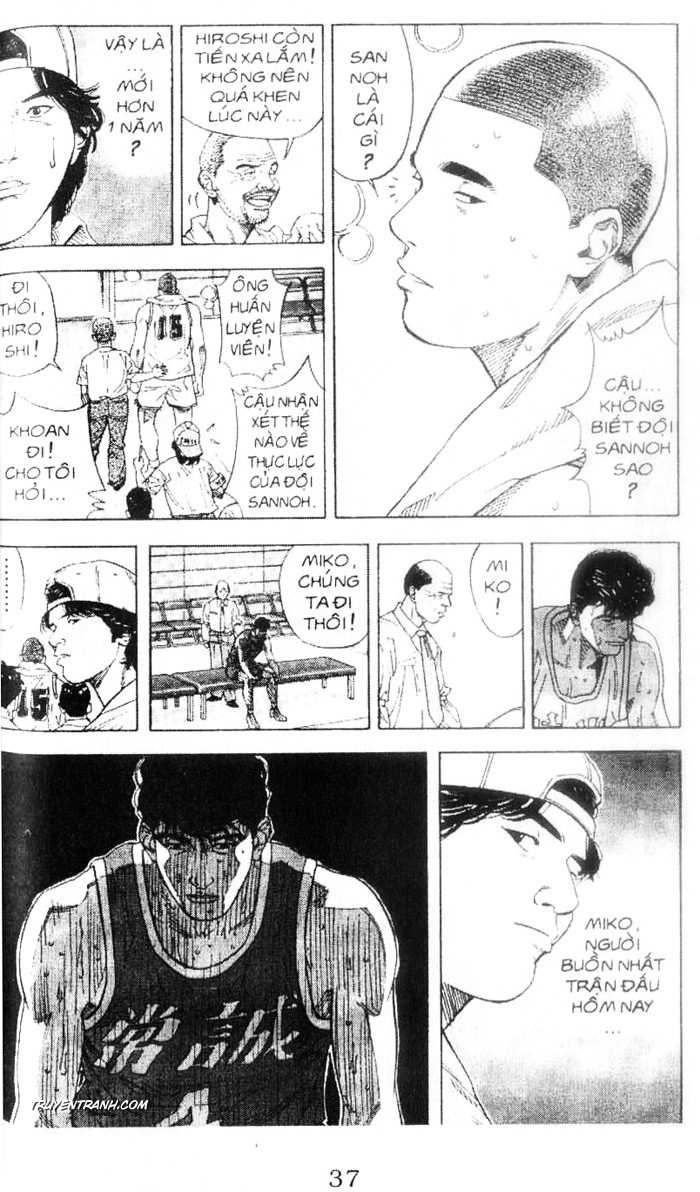 Slam Dunk chap 220 trang 14