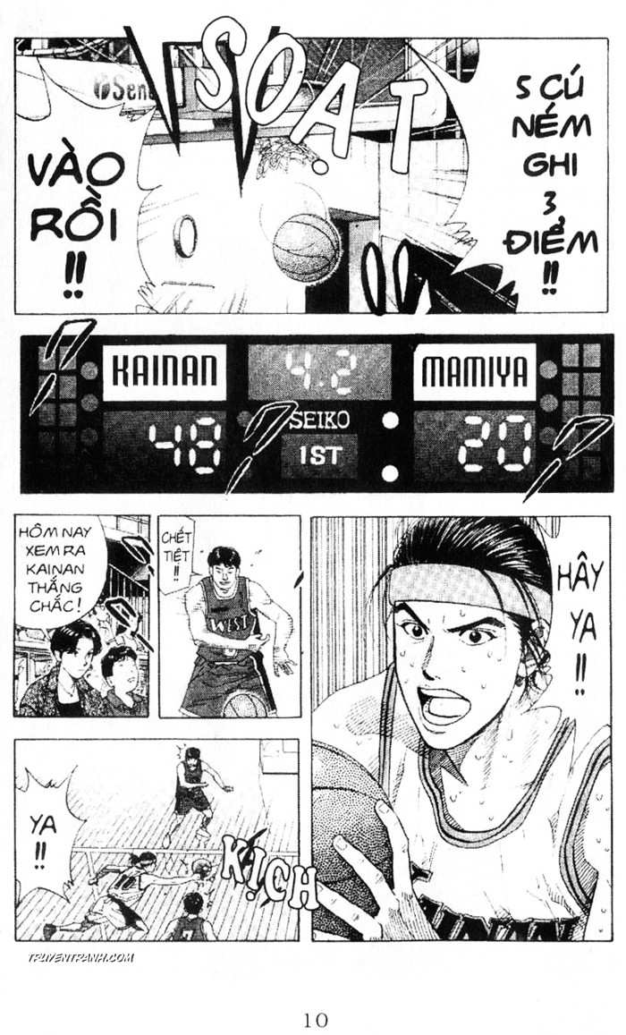 Slam Dunk chap 219 trang 8
