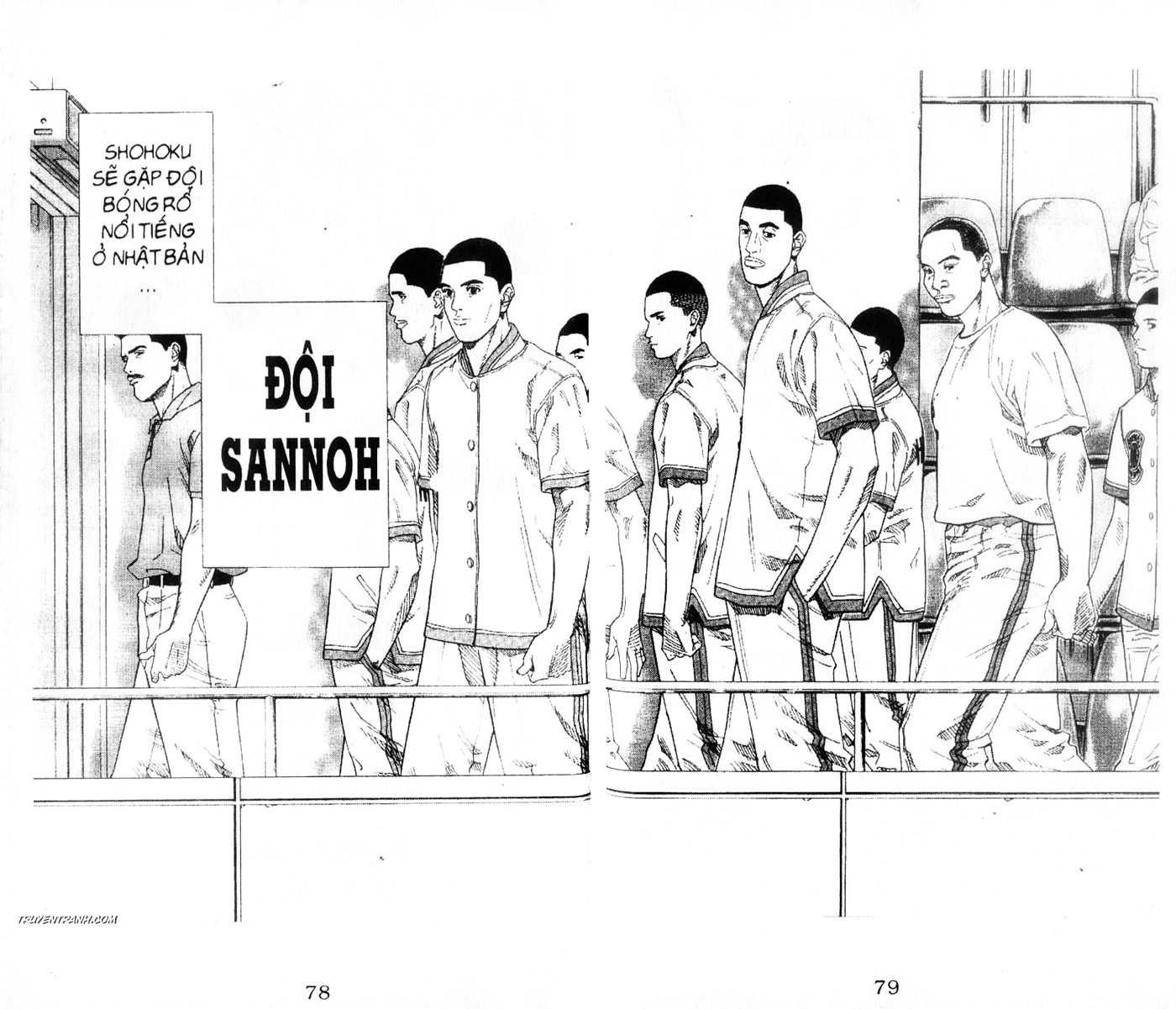 Slam Dunk chap 215 trang 3