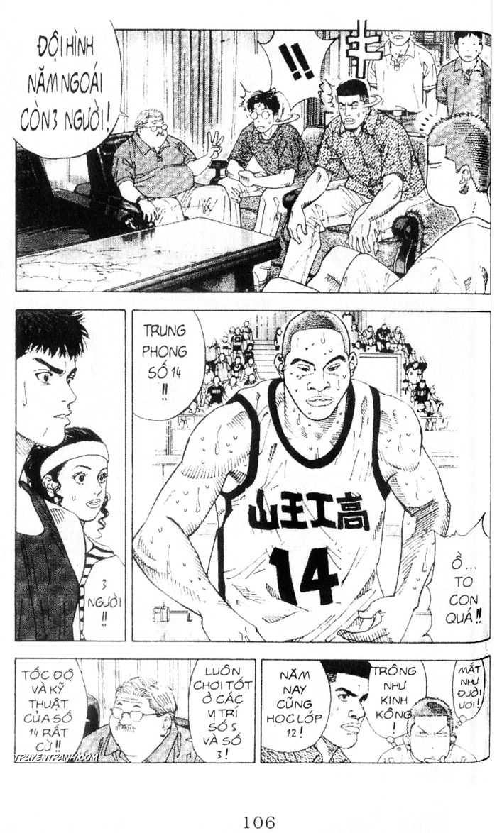 Slam Dunk chap 216 trang 11