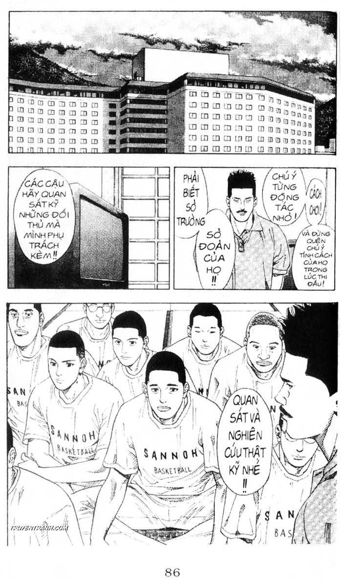 Slam Dunk chap 215 trang 10