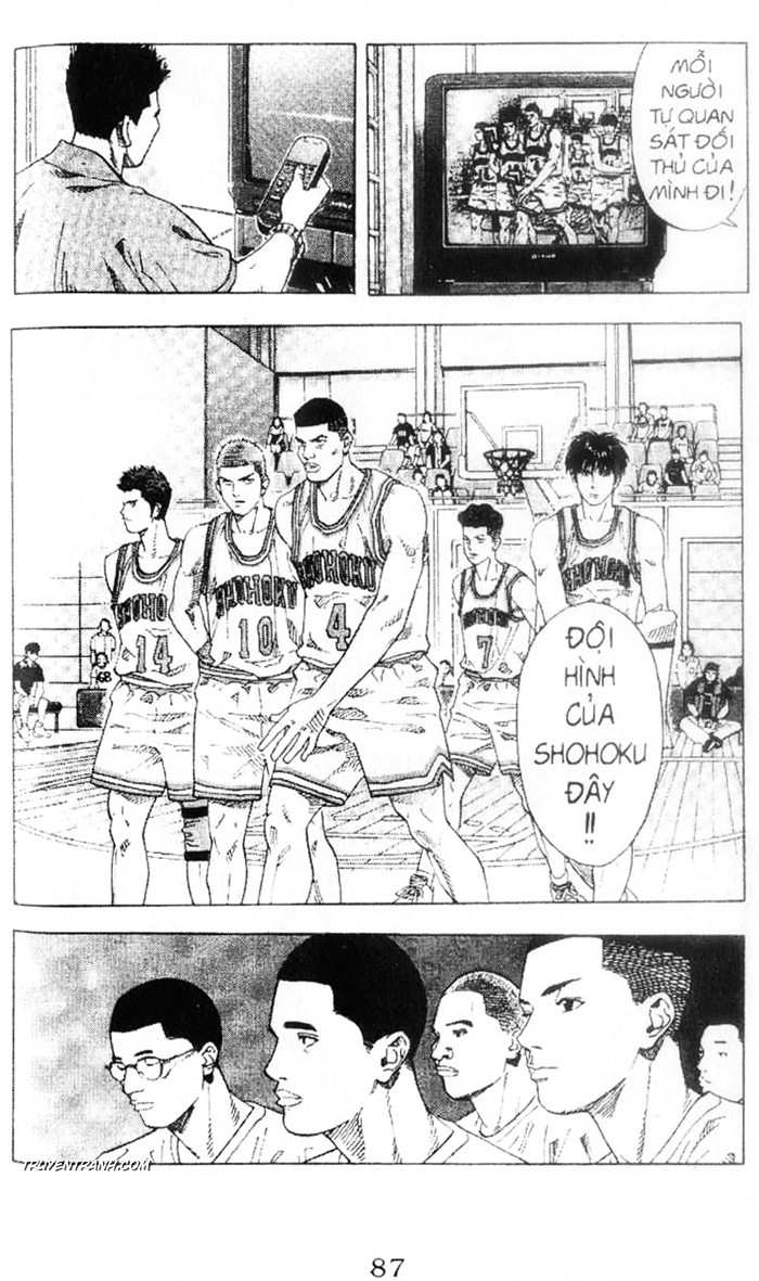 Slam Dunk chap 215 trang 11