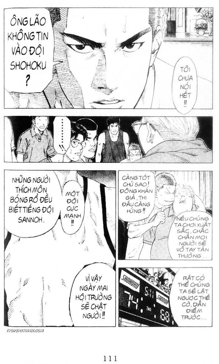 Slam Dunk chap 216 trang 16