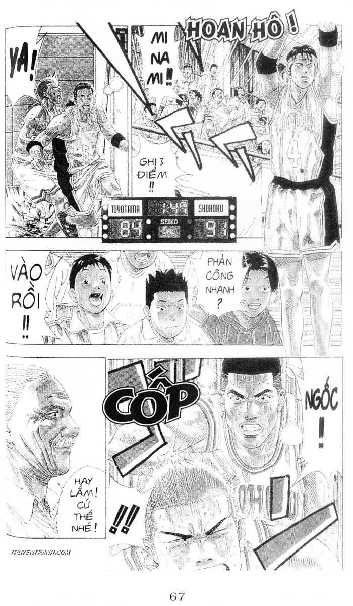 Slam Dunk chap 214 trang 11
