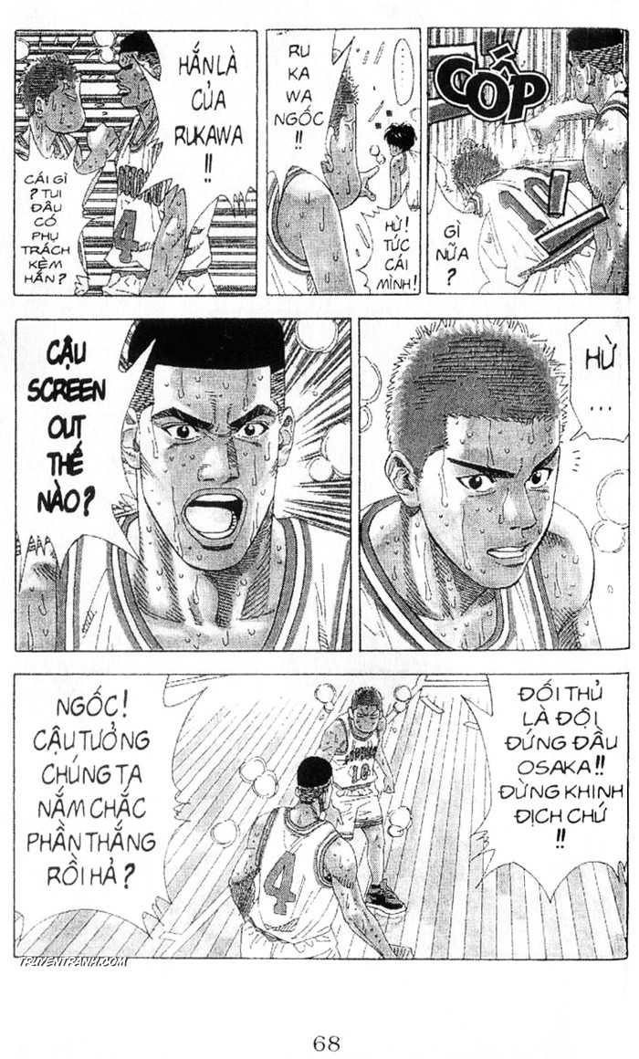 Slam Dunk chap 214 trang 12