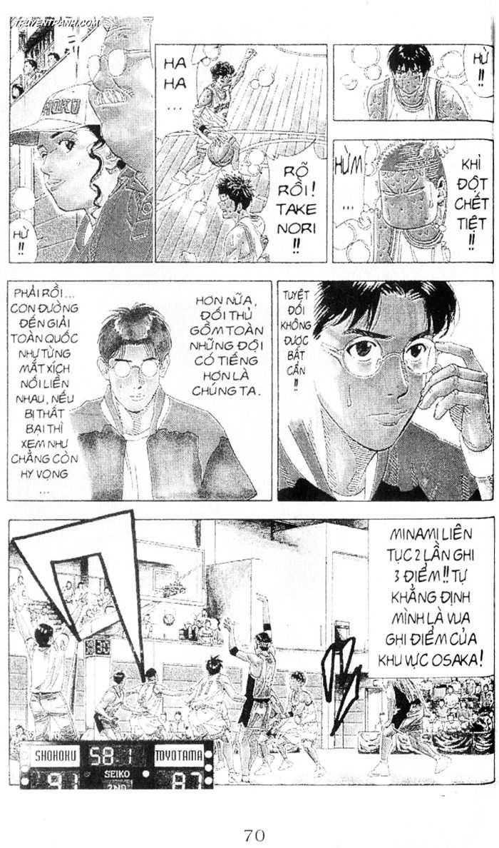 Slam Dunk chap 214 trang 14