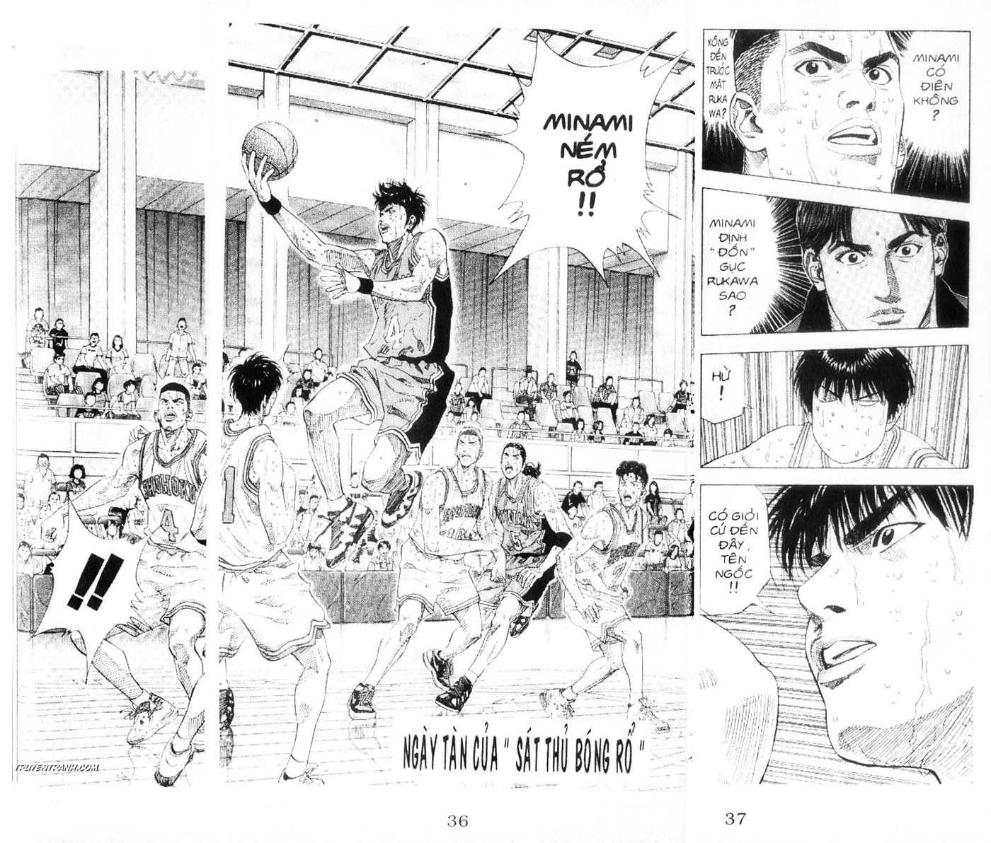 Slam Dunk chap 213 trang 3