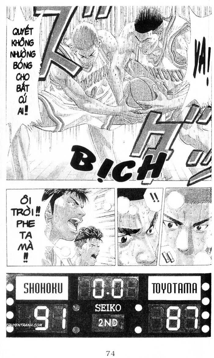 Slam Dunk chap 214 trang 18