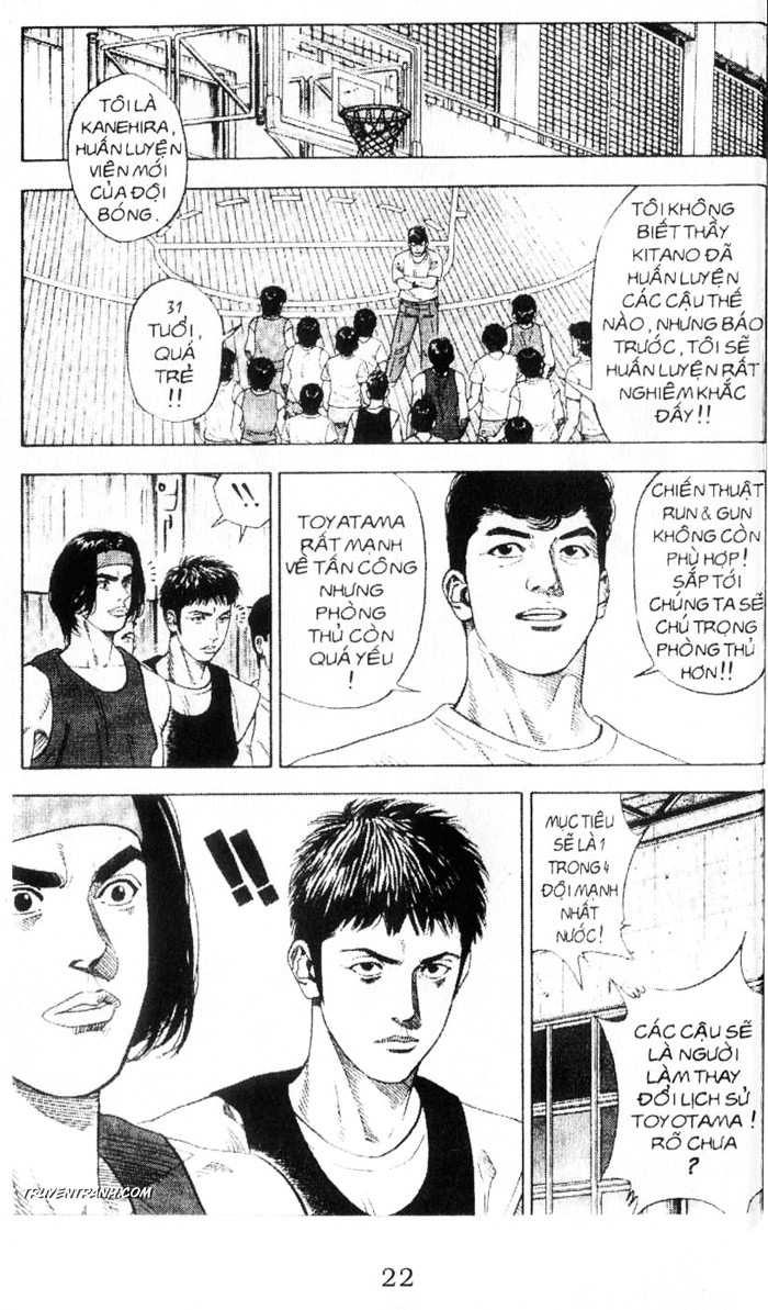 Slam Dunk chap 212 trang 9